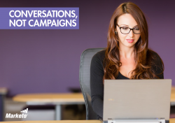 conversations not campaigns