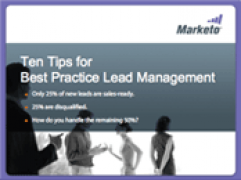 ten tips for best practice lead management