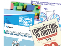 content marketing success kit banner